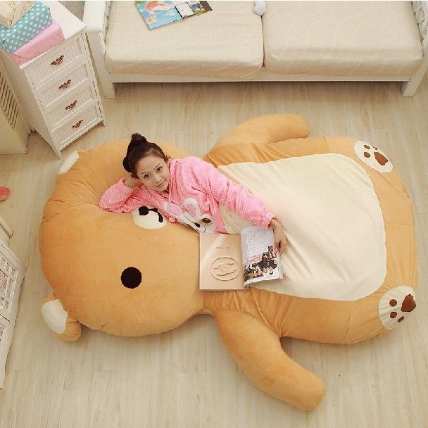 Oversized Huge Giant Stuffed Animals Bear Toys Plush Doll Soft Cartoon  Tatami Big Large Mattress Dropshipping 46b30a92ec915