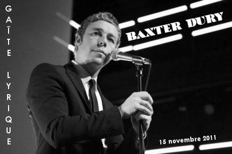 Baxter Dury - La Gaîté Lyrique