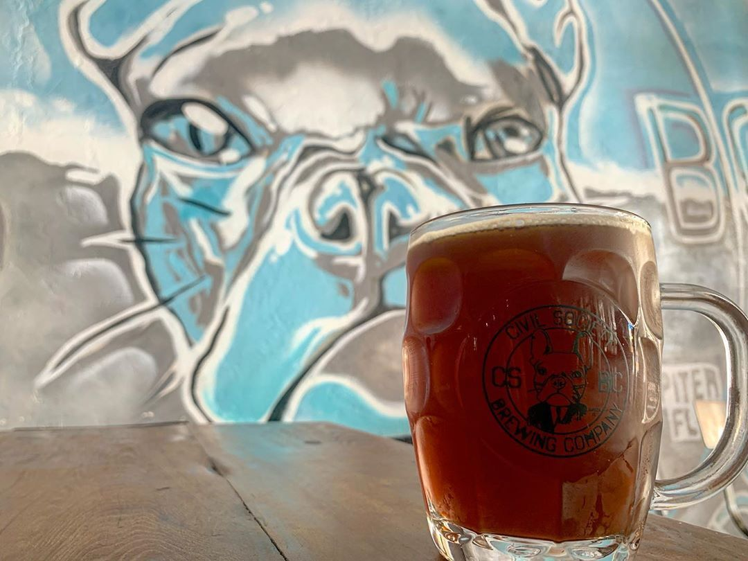 ''Tis the season #octoberfest @civilsocietybrewing #properglassware #churrascada #food #foodie #foodiesofinstagram #chef #cheflife #personalchef #craft #craftbeer #craftbeerlife #craftbeergeek #soflo #flogrown #flogrownfoodie #cheers #mates #