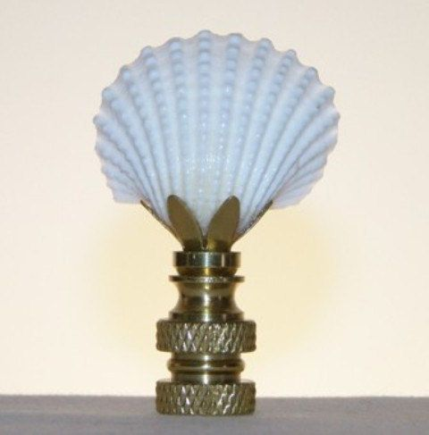 Finials For Lamps Captivating Sea Shell Finial  Finials  Lamp Finial  Shell Finial  Seashell Inspiration Design
