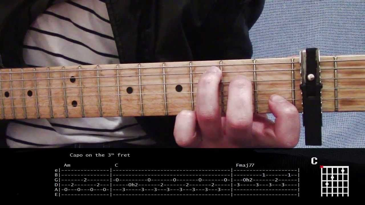 Guitar Lesson Of Monsters And Men Dirty Paws With Tabs Guitar