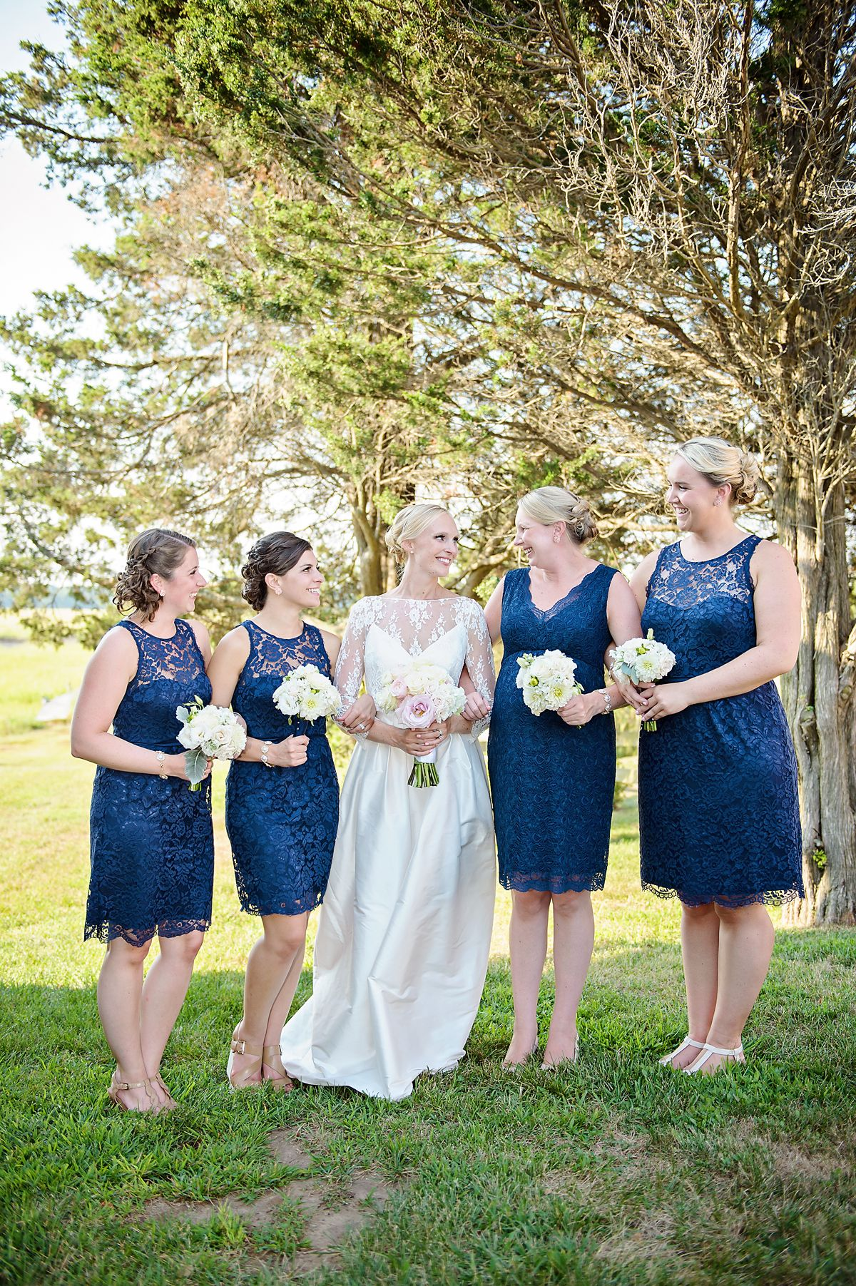 nautical backyard wedding in connecticut hk photography