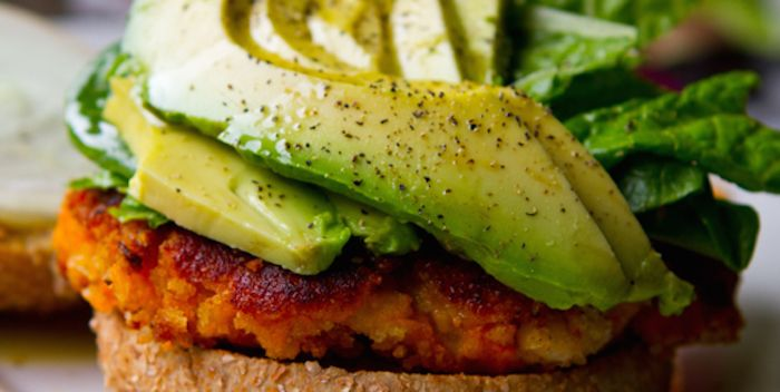 Are you on a #diet? Try this #healthy and delicious recipe! Click here! http://kblog.lunchboxbunch.com/2012/02/easy-sweet-potato-veggie-burgers-with.html#at_pco=smlrebh-1.0&at_si=56e60b52ae4da9cf&at_ab=per-2&at_pos=2&at_tot=5