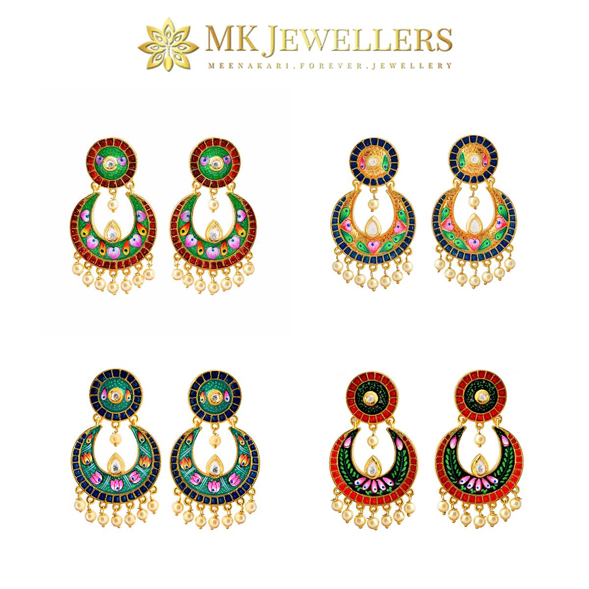 MK Jewellers is the best kundan and meenakari jewellery