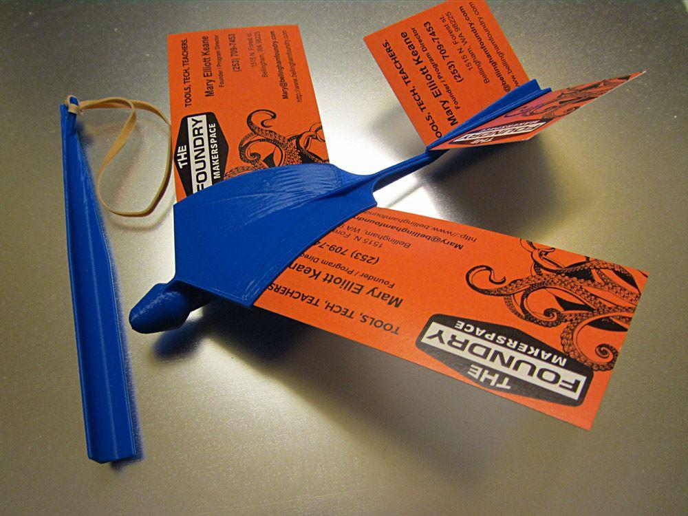 Business Card Glider by LoboCNC.   3d printer inspirations ...