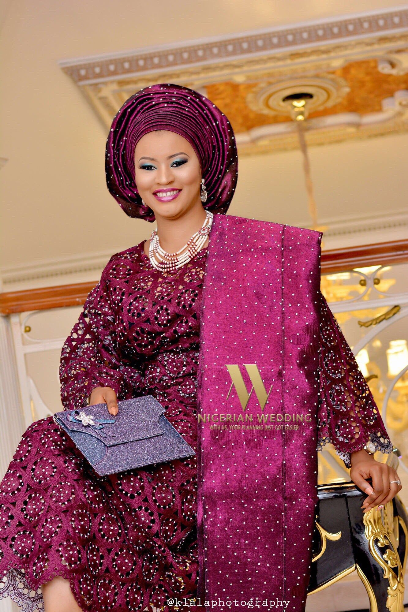 Nigerian Wedding Presents Oyin & Tunji\'s Exquisite Yoruba ...