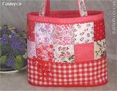 Картинки по запросу красная сумка пэчворк