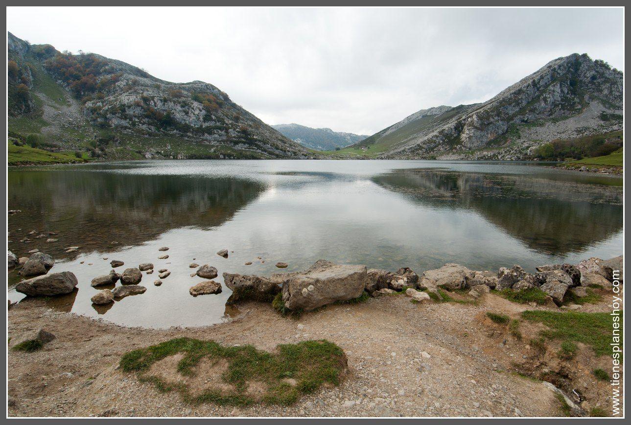 Lagos De Covadonga Lago Enol Lagos De Covadonga Lagos Picos De Europa
