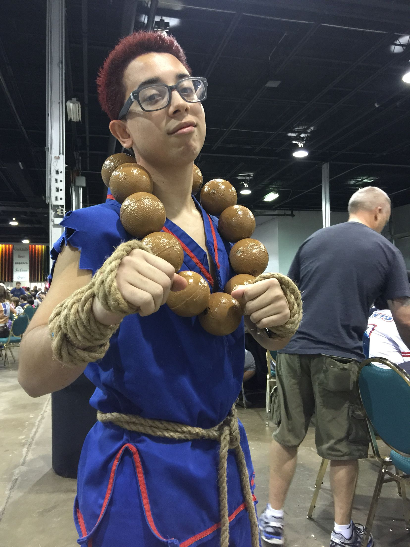 Cool Akuma Cosplay Wizardworld In Chicago On The Cwbt