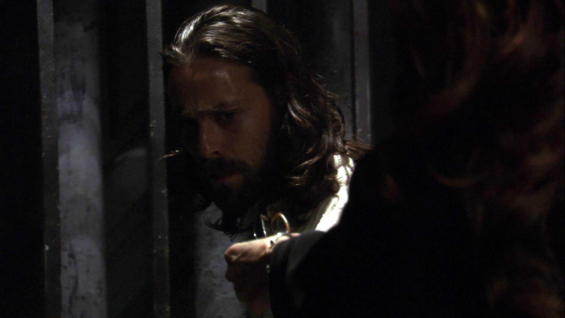 At 1 Pm Et Tomorrow Baltar S Behind Bars And Roslin Gets To Taunt