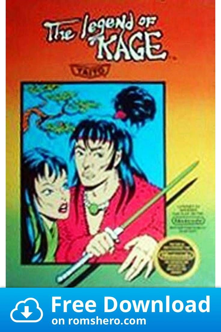 Download Legend Of Kage The Nintendo Nes Rom In 2020 Kage
