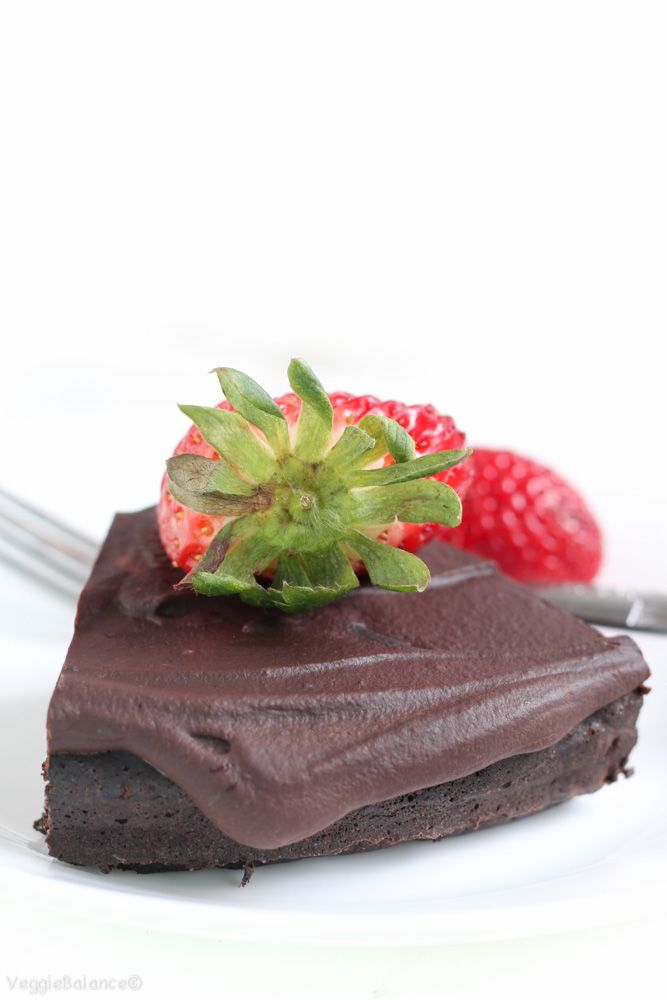 Flourless Chocolate Cake {Gluten-Free, Dairy-Free}