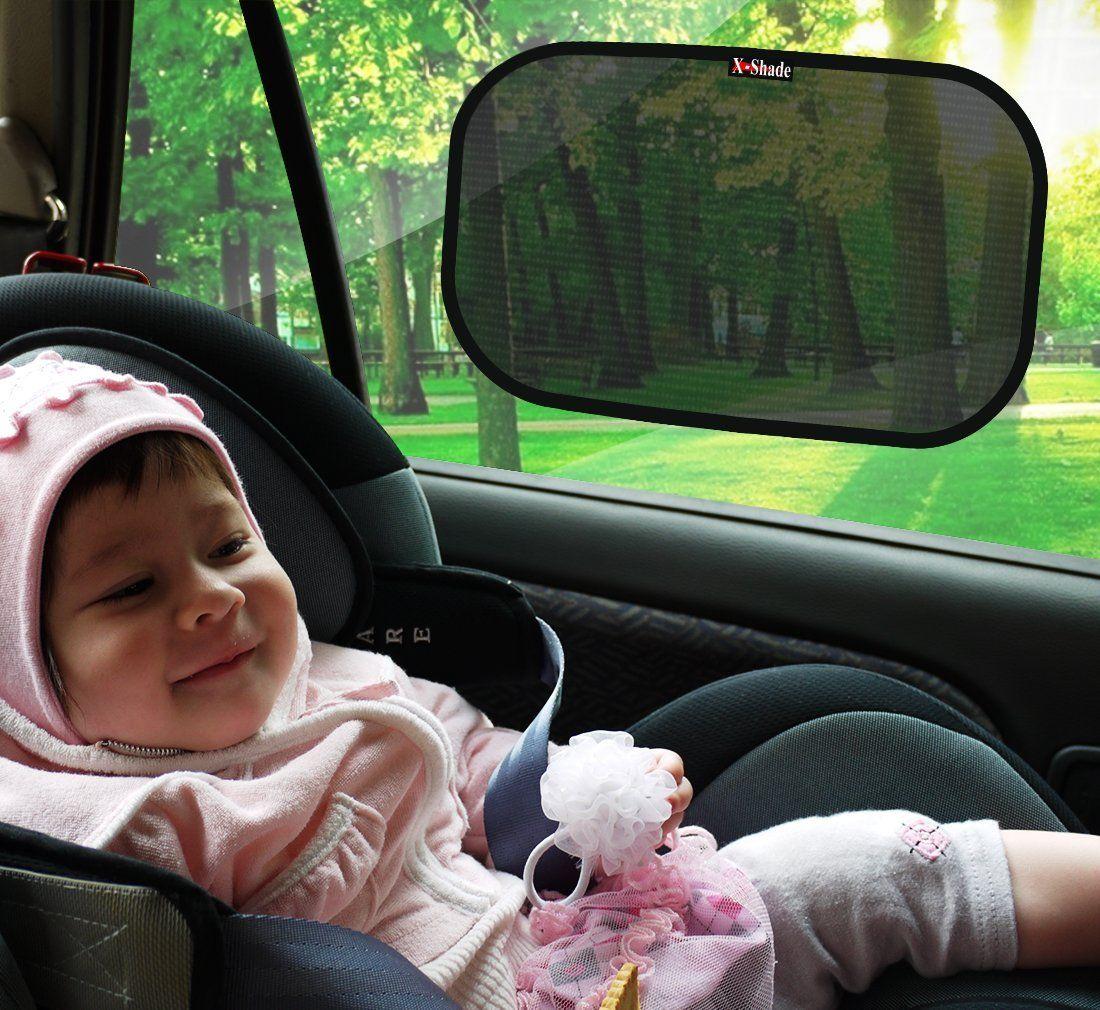 9b0925b9f69 Amazon.com  Car Window Sunshade by X-Shade - Best Easy Twist Folding Car  Window Shades - Automotive Sun Screen Keeps Interior Cooler - With UV  Protective ...