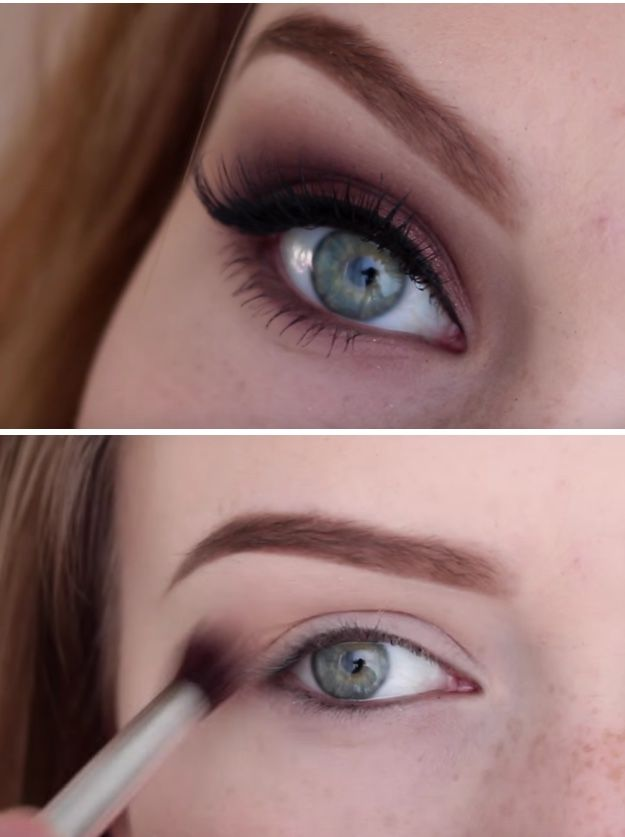 33 Best Makeup Tutorials For Blue Eyes Blue Eye Makeup Hair
