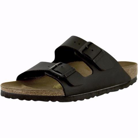 Birkenstock - Unisex Arizona Classic Footbed Sandals - Black Birko-Flor - V.I.M. - 1