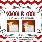 A fun little craft to complete during the bright, summer months! Have your students write about themselves and why they think school is cool!