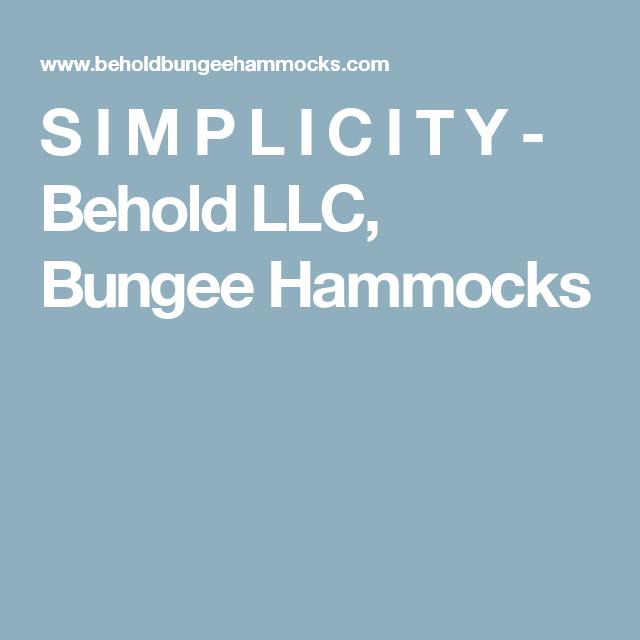 s i m p l i c i t y   behold llc bungee hammocks s i m p l i c i t y   behold llc bungee hammocks   behold bungee      rh   pinterest