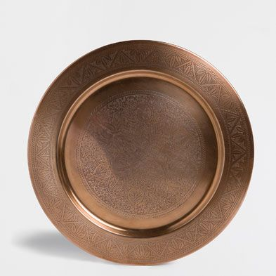 CHARGER PLATES - TABLEWARE | Zara Home United Kingdom & Plate Charger - Tableware | Zara Home United Kingdom | Home ...