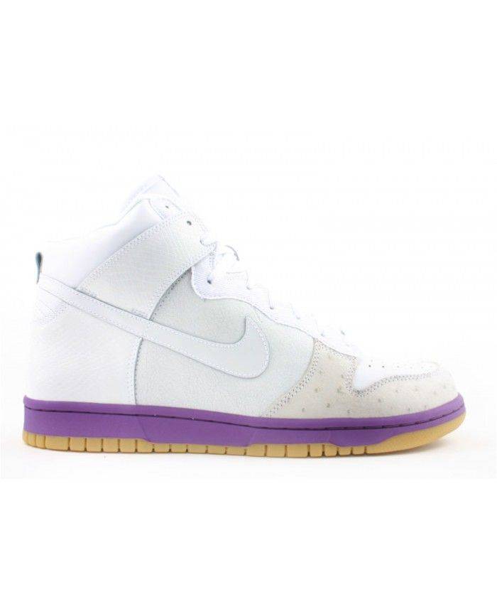 Dunk High Deluxe White, White-Hyacinth 312032-111