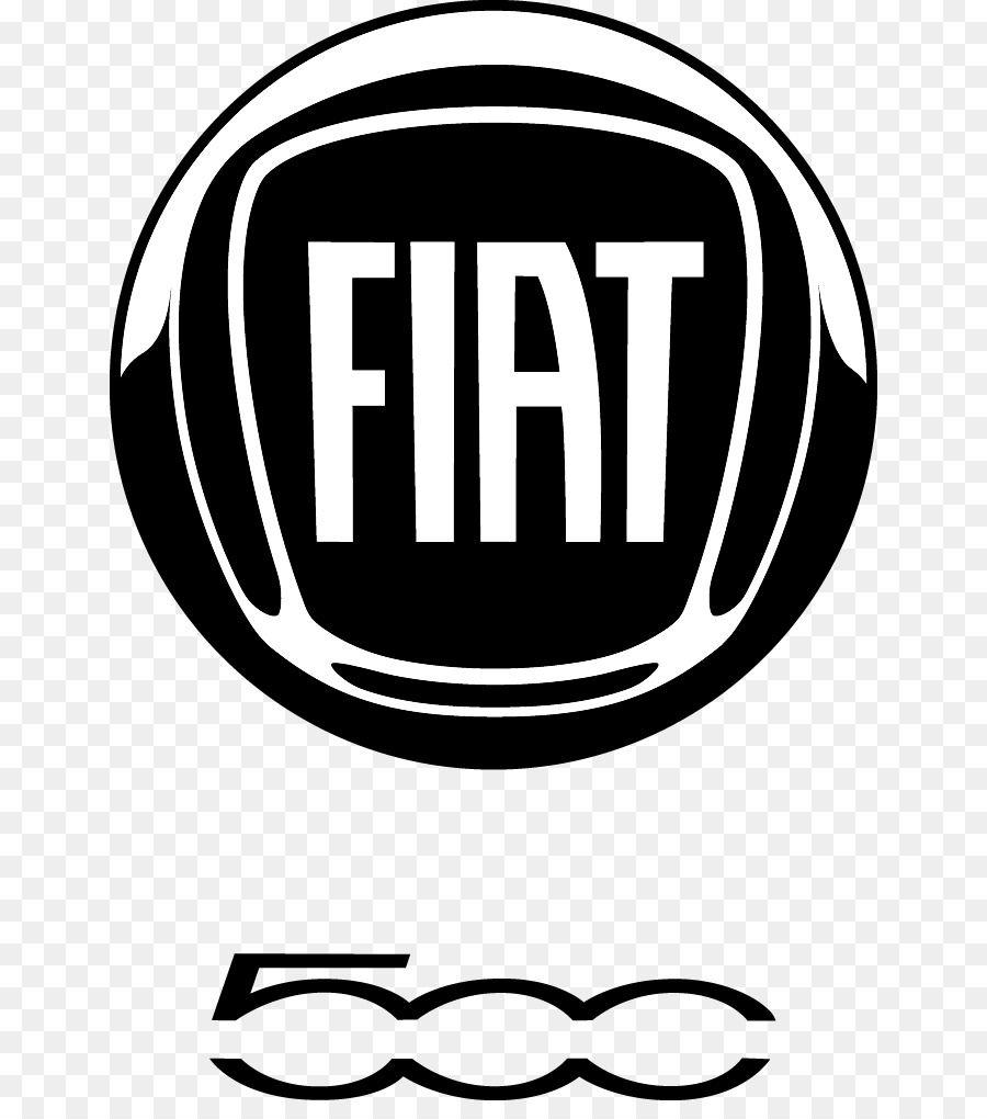 Fiat Fiat Automobiles Fiat 500 Black And White Text Fiat Logo Fiat Cars Fiat 500 Black