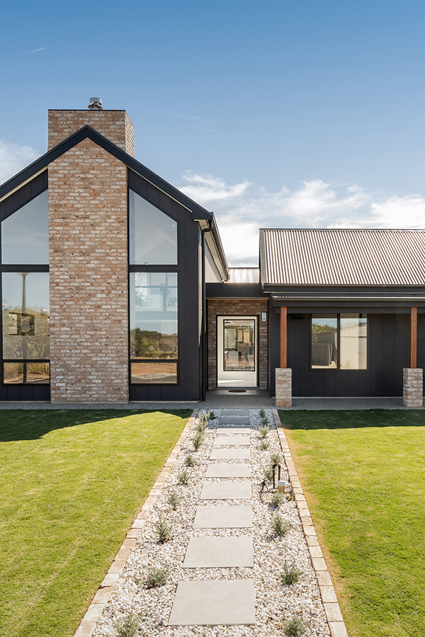 The Scandinavian Look Modern Barn House Facade House Dream House Exterior