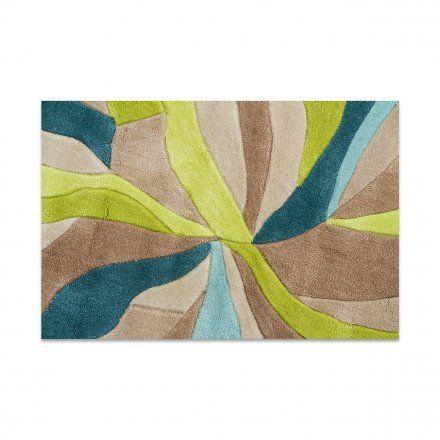 Webtappeti Tappeto Splinter verde/ottanio 80x150 cm