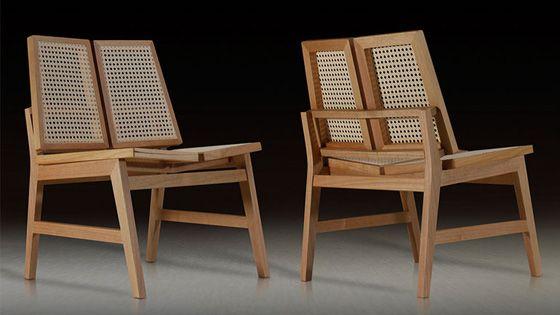 Tiss armchair by Zanini de Zanine