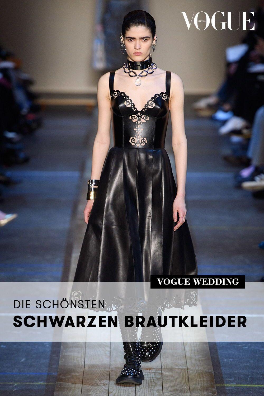 Schwarzes Brautkleid Fur Die Moderne Braut Schwarzes Brautkleid Kleider Hochzeit Schwarze Hochzeit