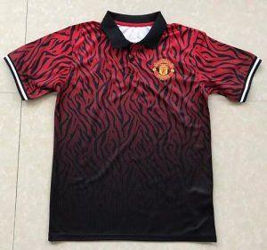 Manchester United 2017 18 Season Red Black Manutd Polo Shirt J809 Manchester United Jacket Manchester United Manchester United Football Club