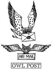 Owl Post Stamps Harry Potter Owl Owl Post Harry Potter Hogwarts Letter