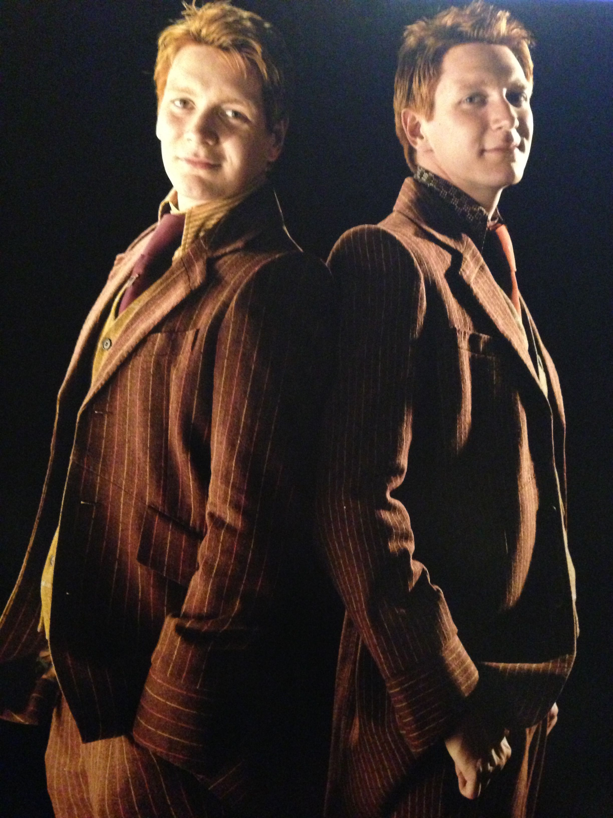 The Twins Fred And George Weasley George Weasley Percy Weasley