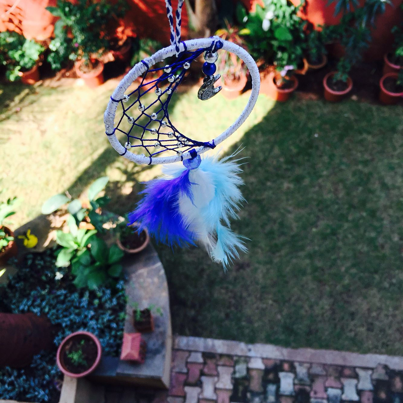 #dreams #dreamcatchers #trinkets #handmade #loveforhandmade #blue #goodvibes #postivity