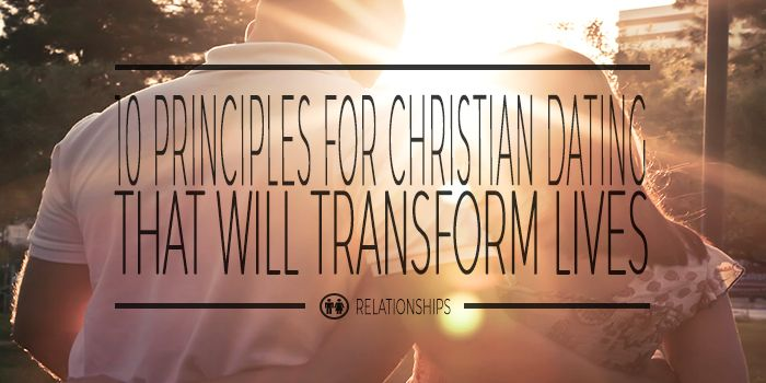 Principles of christian dating