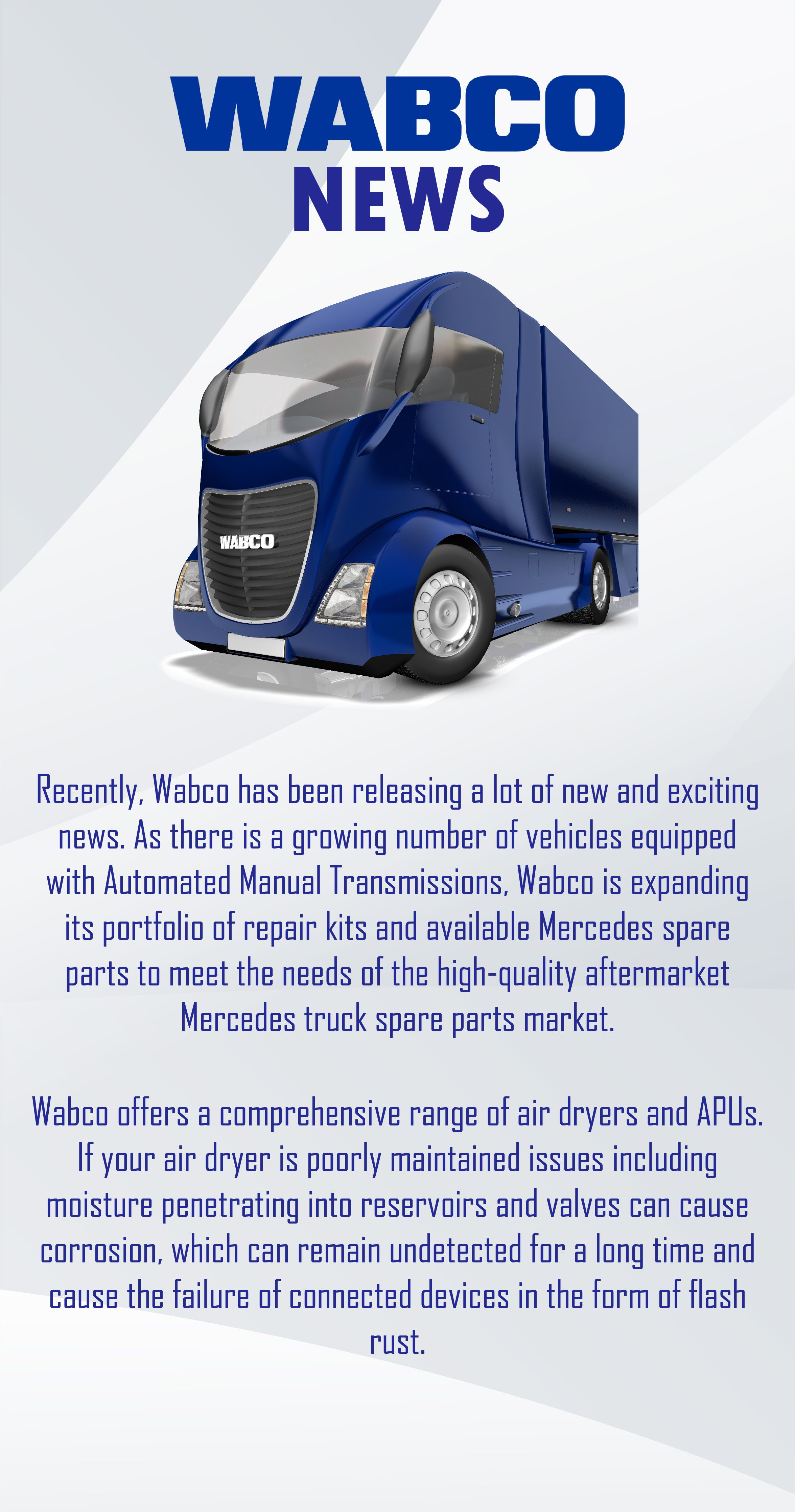 The Wabco has released an exciting news that Wabco is going to expand its  collection of