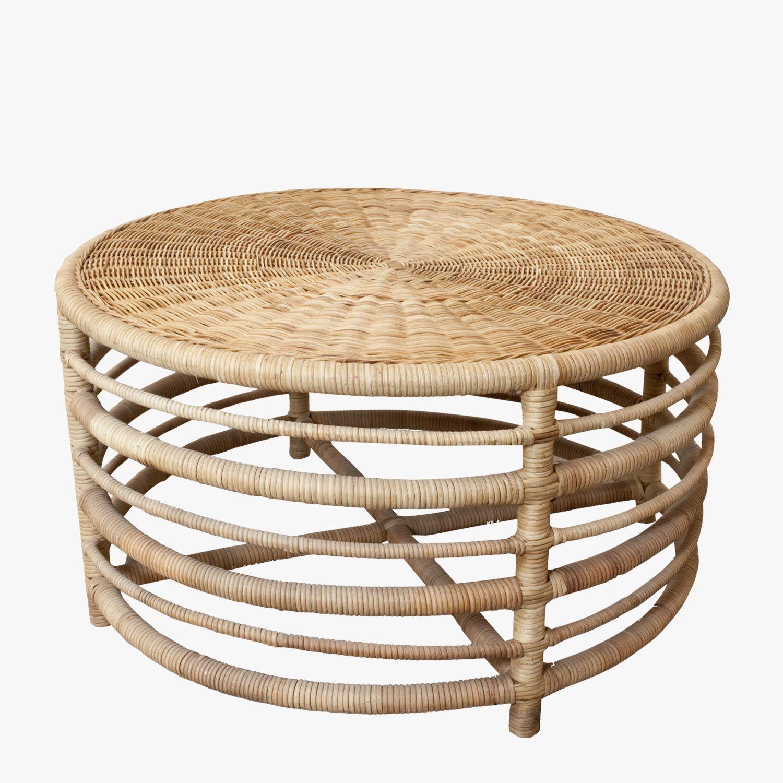 - Montauk Natural Rattan Coffee Table - Shop Tables Rattan Coffee