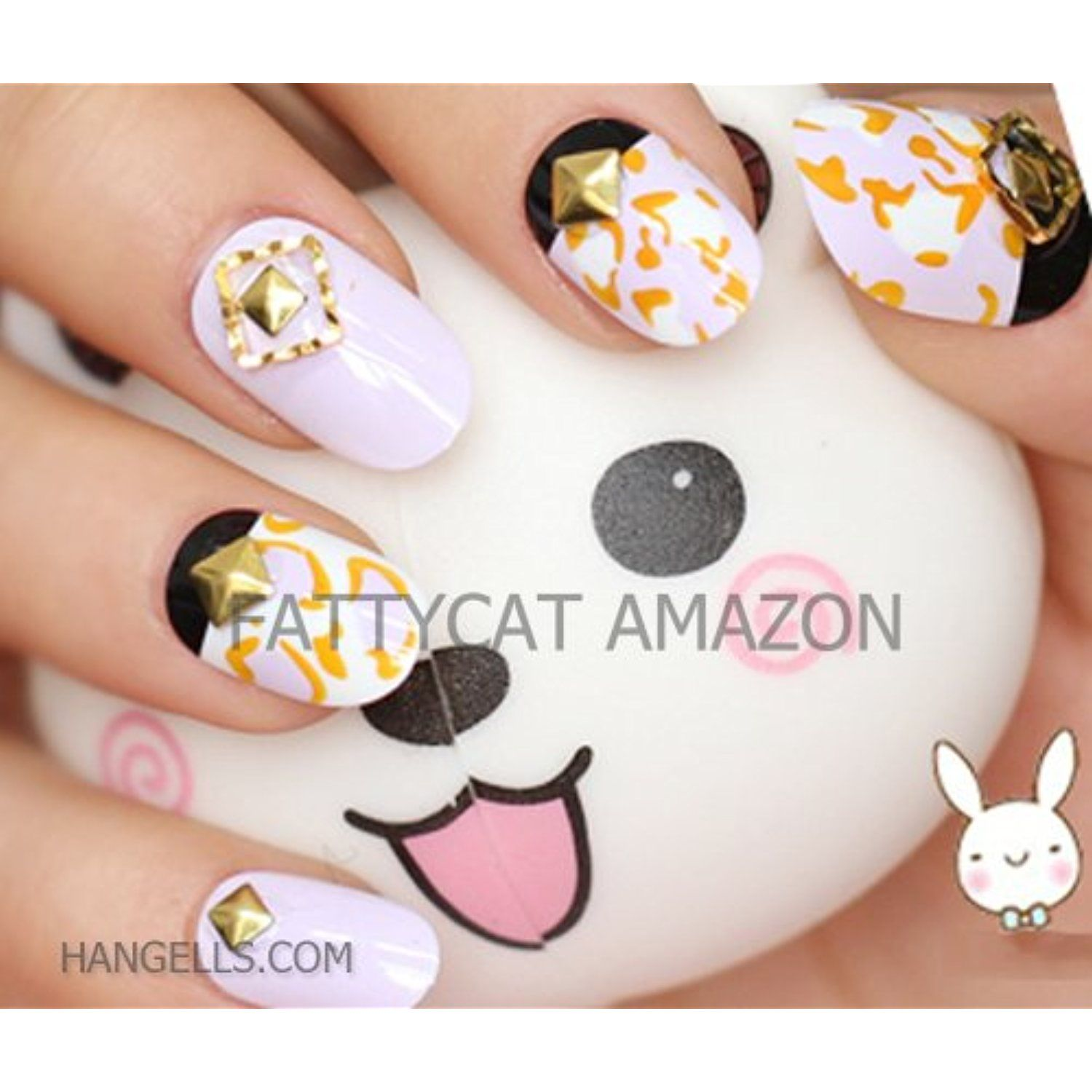 FASHION JAPANESE 3D NAIL ART (JASMINE GARDEN) 24 nails Sold By ...