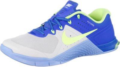 Nike Metcon 2 Fitnessschuhe Damen royalhellgrün
