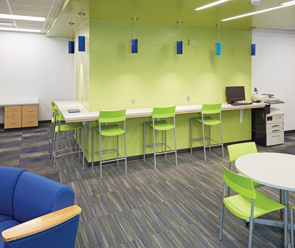 Innovative High School Classroom Design ~ Sioux center middle and high school ia demco interiors
