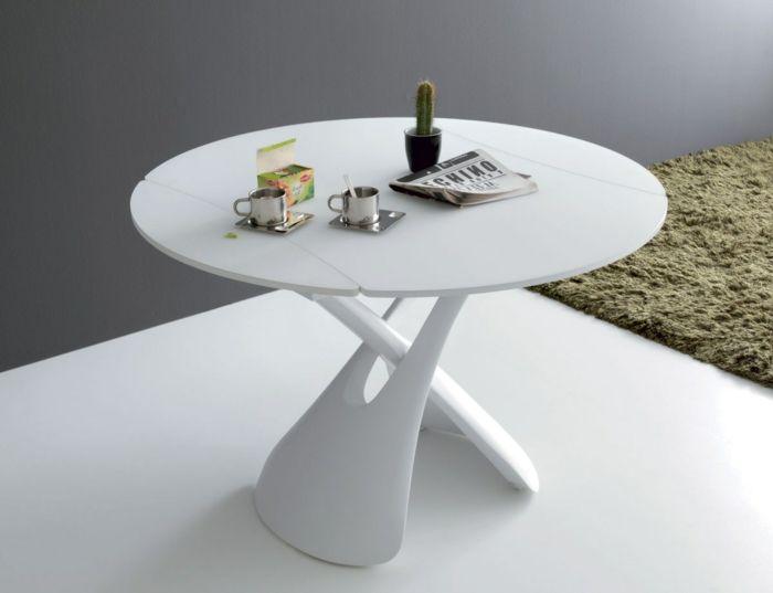 La Table Basse Relevable Pour Votre Salon Fonctionnel Bois