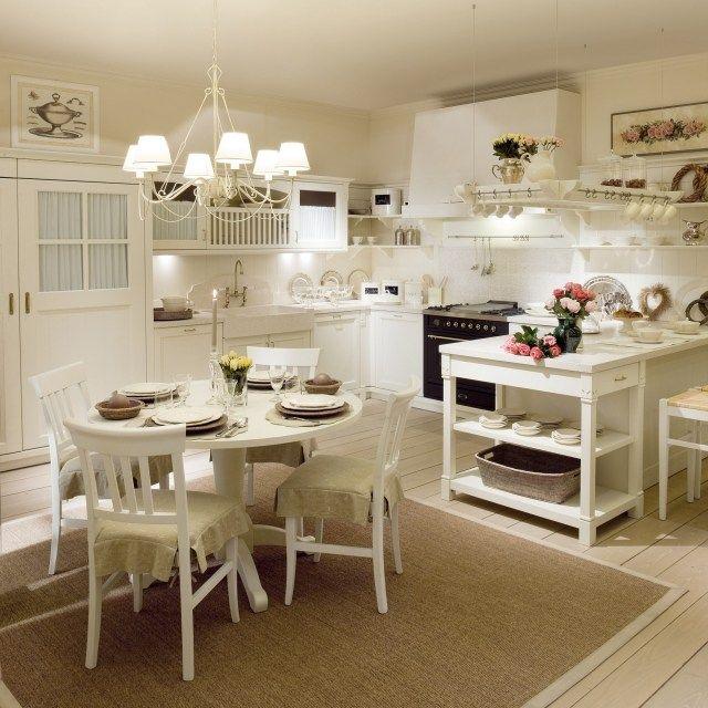 sch ner materialmix in der k che country chic stil m belideen holz k che pinterest holz. Black Bedroom Furniture Sets. Home Design Ideas