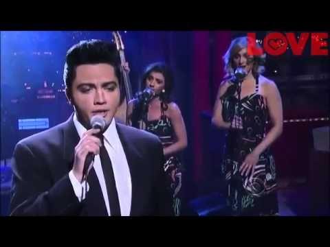 "Justin Shandor   ""Can't Help Falling In Love"" David Letterman"