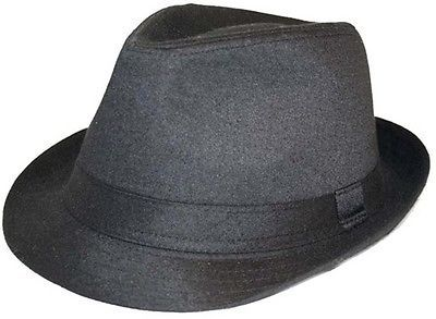 Mens #ladies #traditional classic plain black #trilby - comes boxed - 5 sizes ,  View more on the LINK: http://www.zeppy.io/product/gb/2/111070680189/