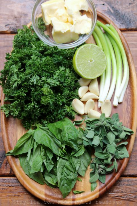 Ingredients for chimichurri butter | Dinner ideas in 2019 ...
