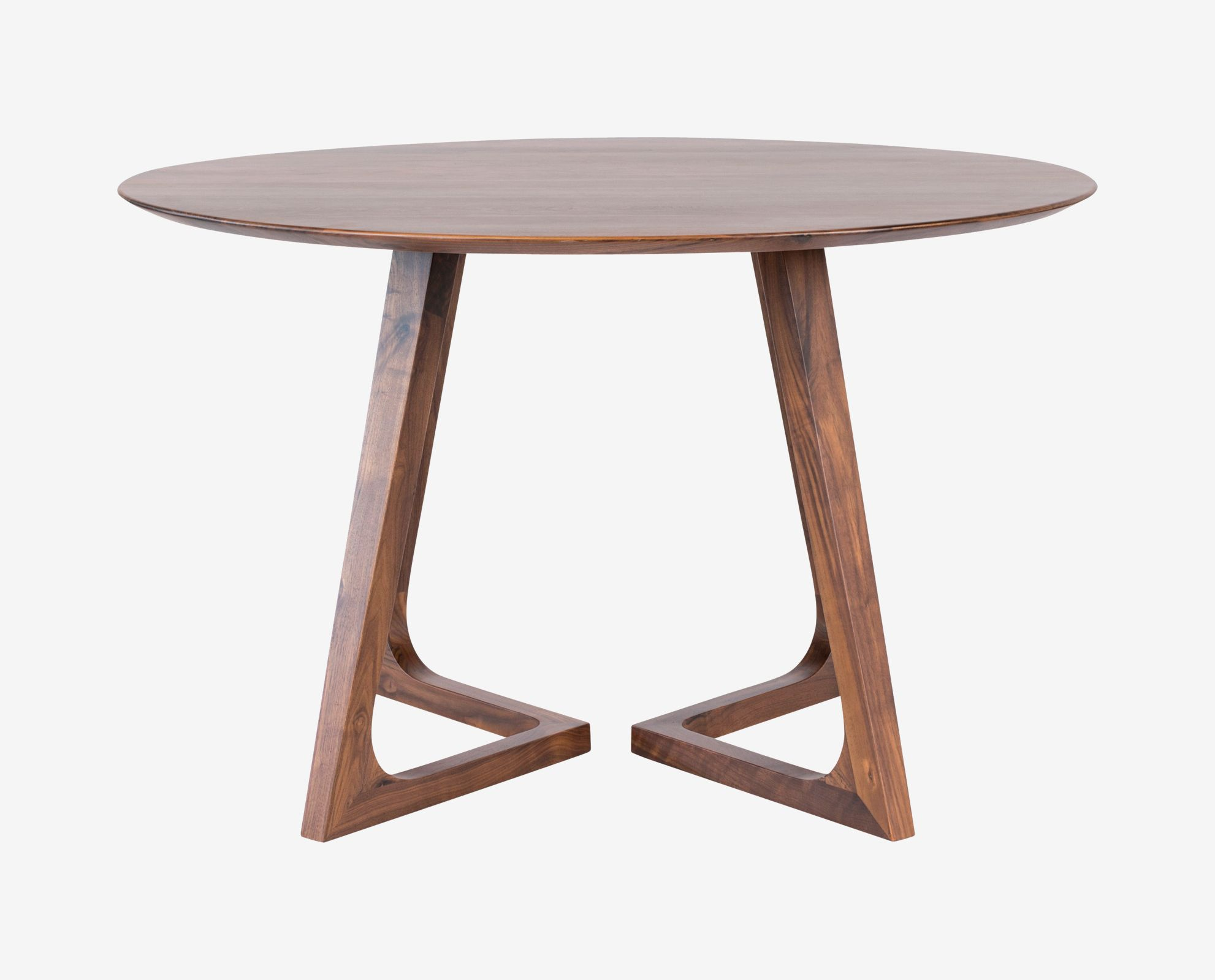 Dania The Cress round dining table will nurture your inner