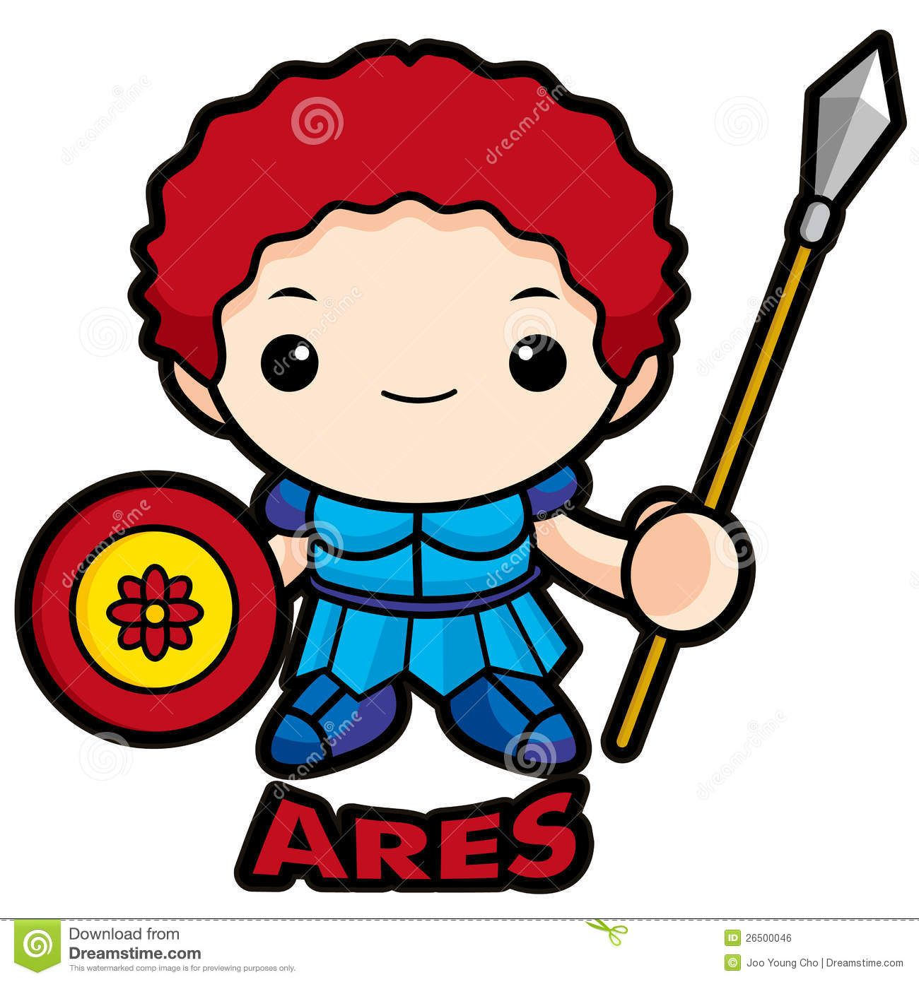 God Of War Ares Royalty Free Stock Image Image 26500046