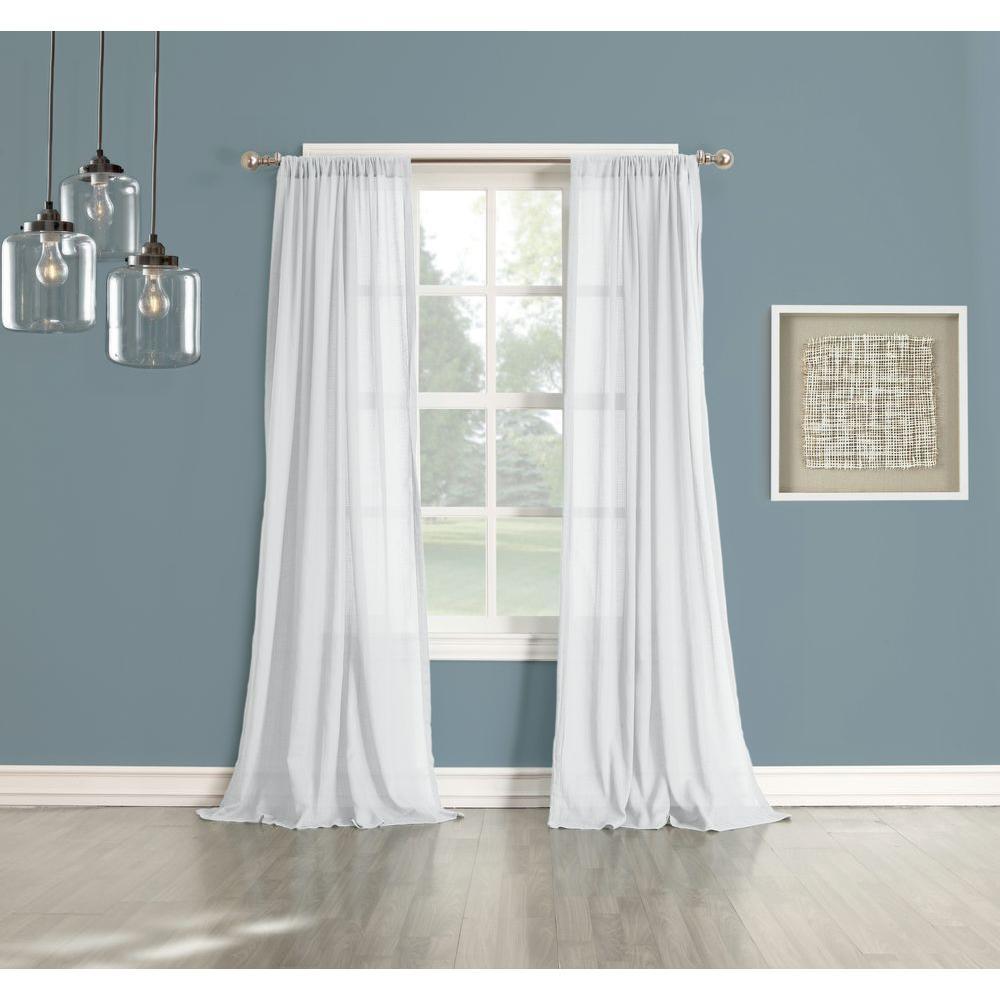 Lichtenberg Sheer No 918 Millennial Henderson White Cotton Gauze