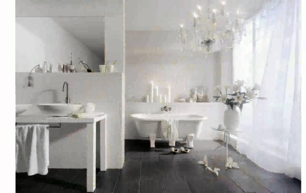 badezimmer vorhänge ideen