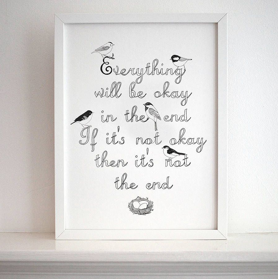Love this for the kitchen! Makes me feel better just reading it!