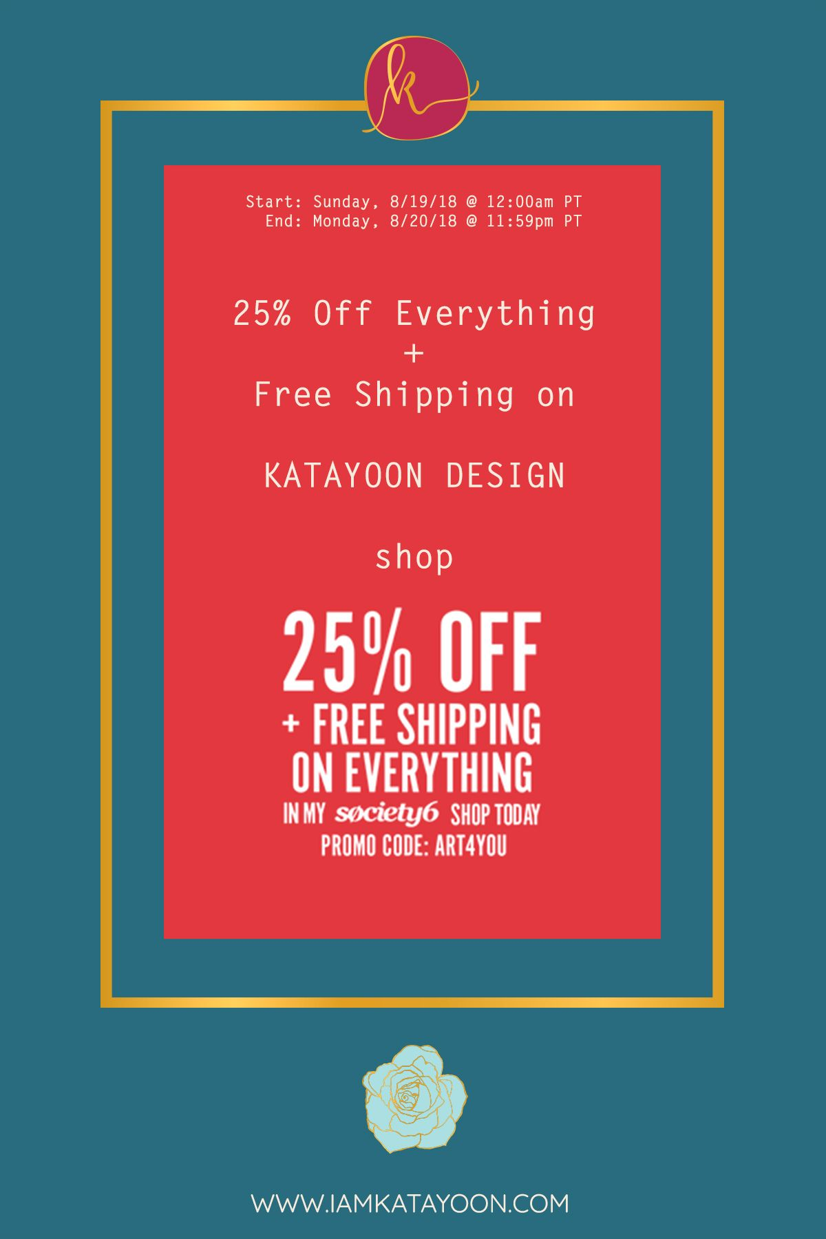 MAJOR END-OF-SUMMER SALE! 25% OFF + FREE SHIPPING ON EVERYTHING on ...