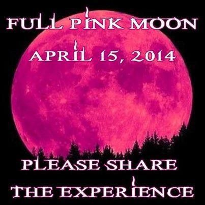 Cx There Will Be A Full Pink Moon